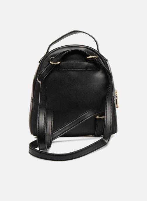 Rucksäcke Love Moschino Mini Super Quillted Backpack schwarz ansicht von vorne