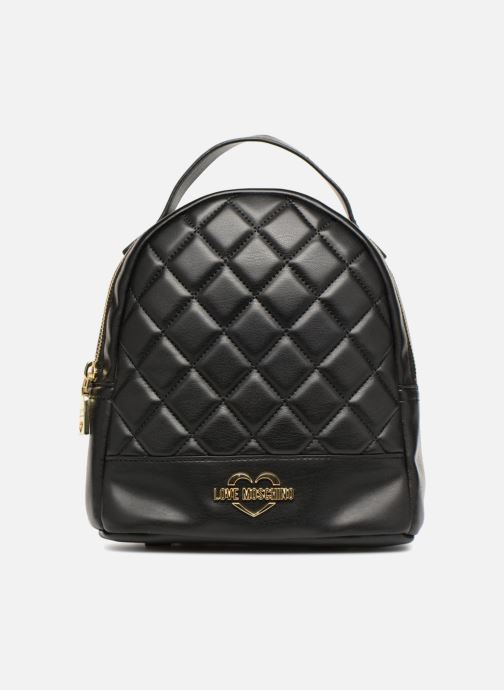Rucksacks Love Moschino Mini Super Quillted Backpack Black detailed view/ Pair view