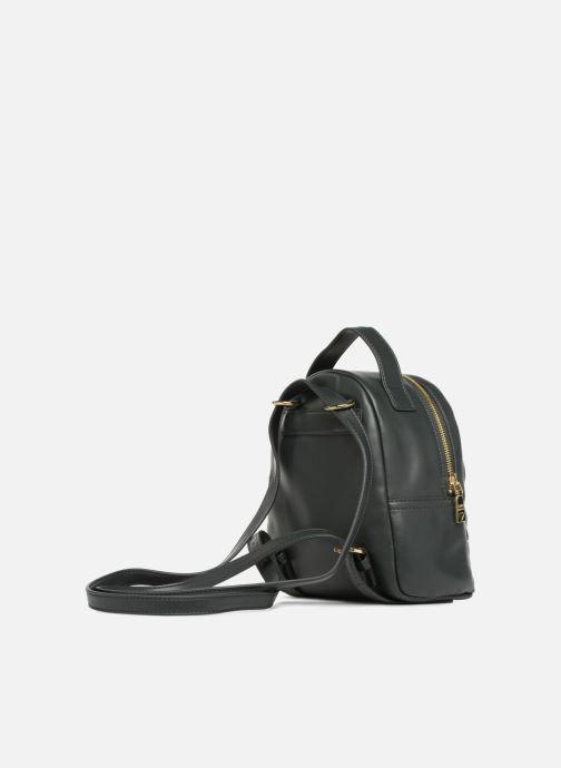 Rucksäcke Love Moschino Mini Super Quillted Backpack grün ansicht von rechts