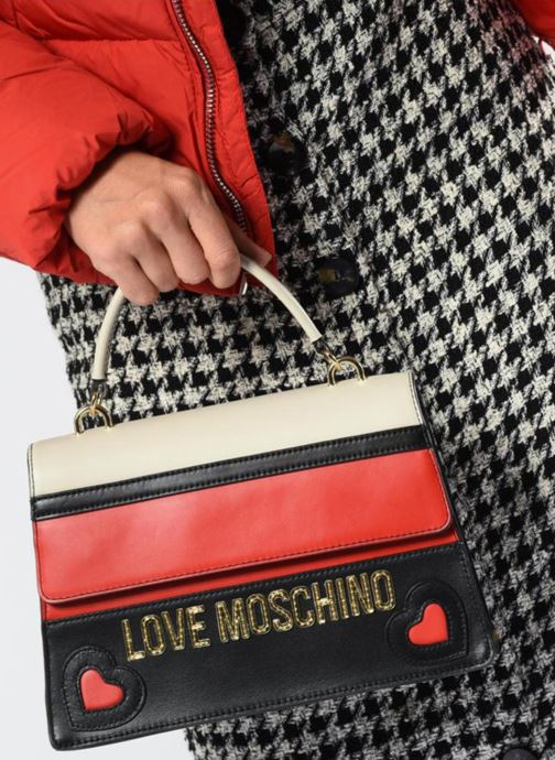 Handtassen Love Moschino Colorful Leather Bag Multicolor boven