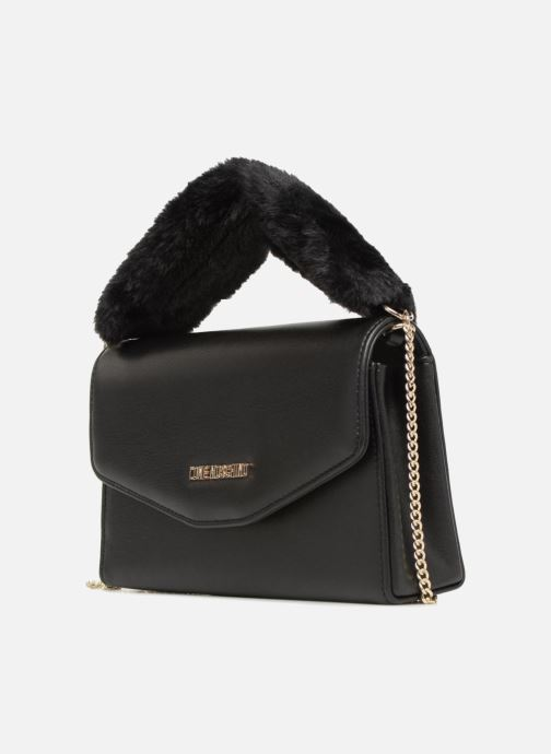 Borse Love Moschino Evening Bag Chaine Nero modello indossato