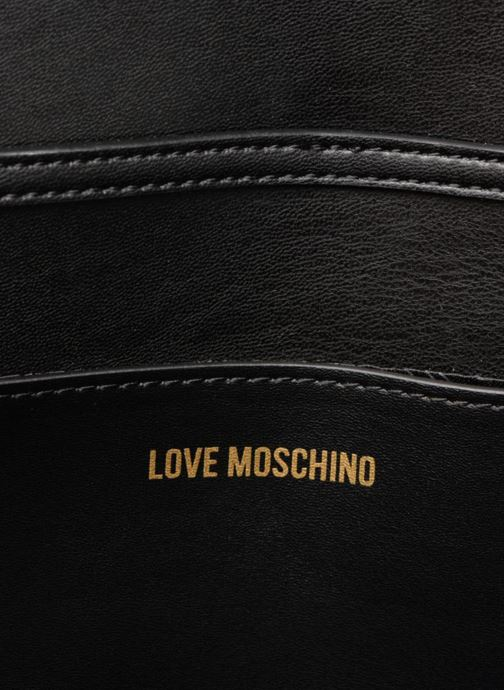Handtassen Love Moschino Evening Bag Chaine Zwart achterkant