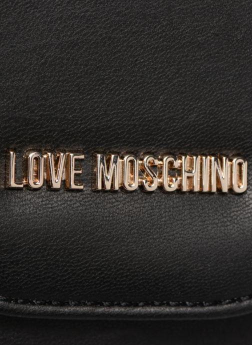 Handtassen Love Moschino Evening Bag Chaine Zwart links