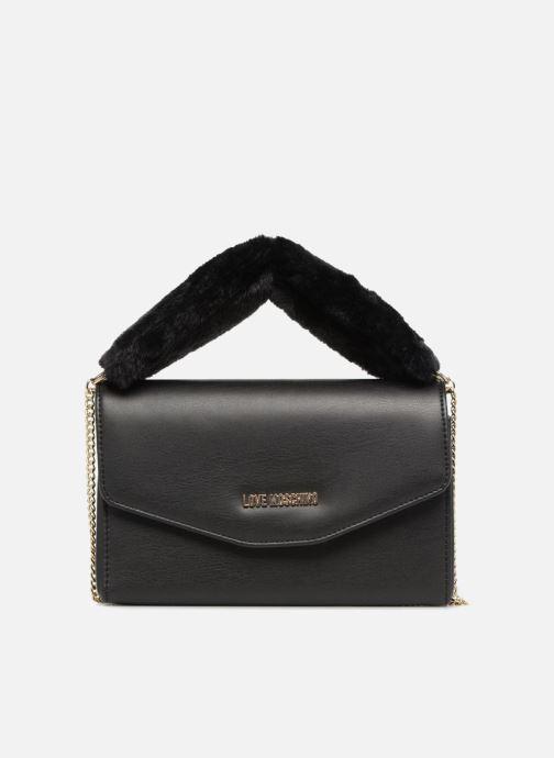 Handtassen Love Moschino Evening Bag Chaine Zwart detail