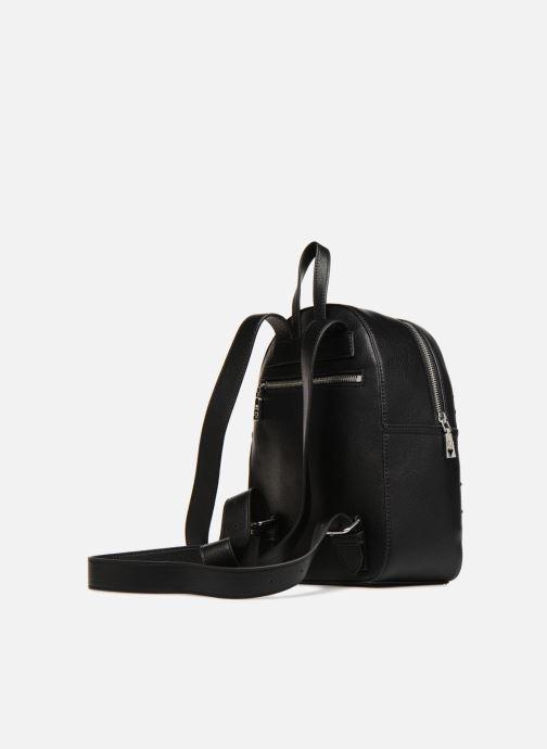 Rucksäcke Love Moschino Belt Studs Backpack schwarz ansicht von rechts