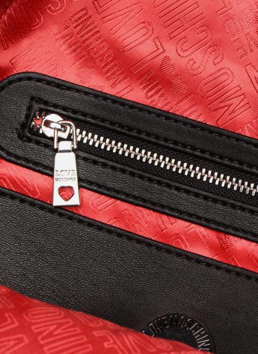Rucksäcke Love Moschino Belt Studs Backpack schwarz ansicht von hinten