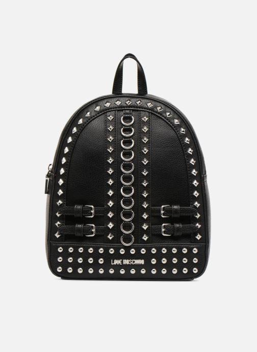 Rucksäcke Love Moschino Belt Studs Backpack schwarz detaillierte ansicht/modell