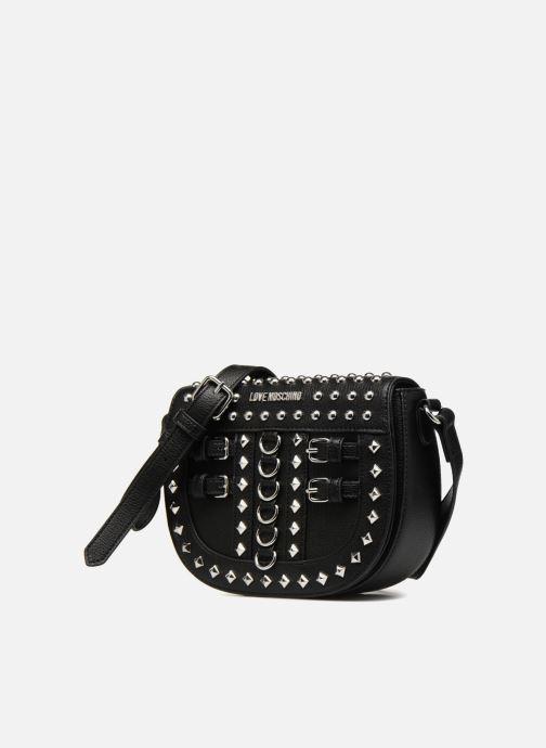 Handtassen Love Moschino Belt Studs Crossbody Zwart model