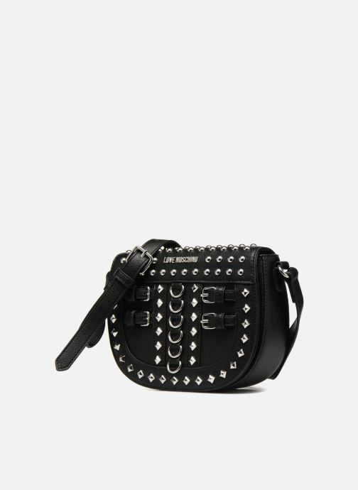 Handtassen Love Moschino Belt Studs Crossbody Zwart model