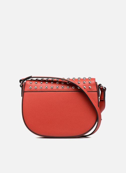 Bolsos de mano Love Moschino Belt Studs Crossbody Rojo vista de frente