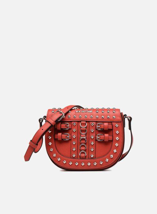 Bolsos de mano Love Moschino Belt Studs Crossbody Rojo vista de detalle / par