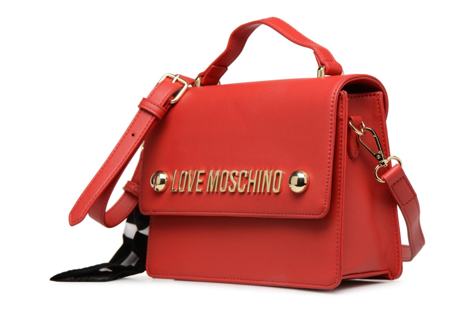 0500 Bag Roso Lettering Moschino Love tOZqRR