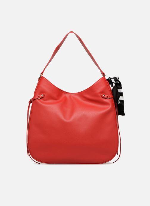 Handtaschen Love Moschino Lettering Hobo rot ansicht von vorne