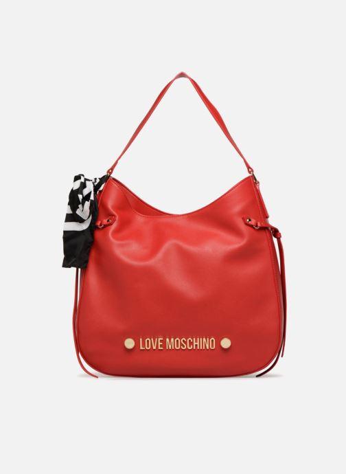 Handtaschen Love Moschino Lettering Hobo rot detaillierte ansicht/modell