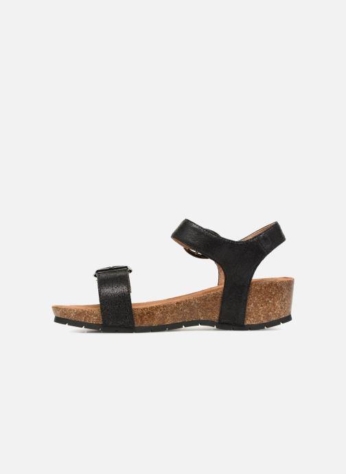 Sandales et nu-pieds Les P'tites Bombes Narcisse 2 Noir vue face