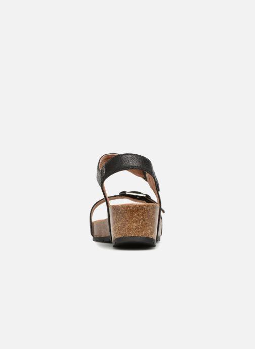 Sandales et nu-pieds Les P'tites Bombes Narcisse 2 Noir vue droite