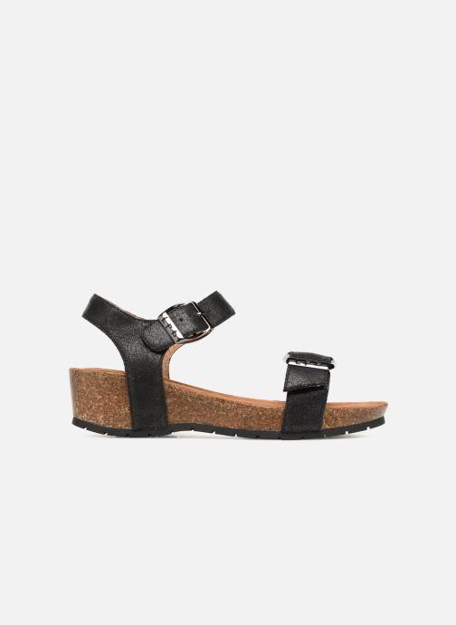 Sandales et nu-pieds Les P'tites Bombes Narcisse 2 Noir vue derrière