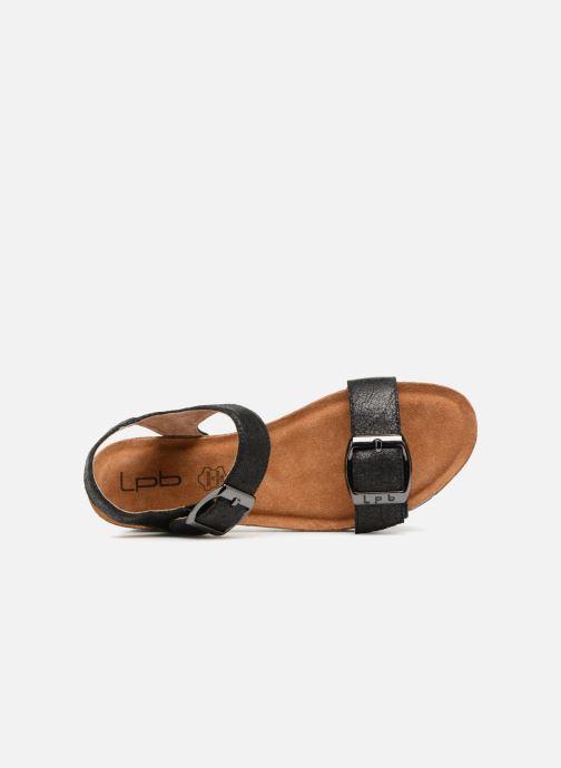 Sandales et nu-pieds Les P'tites Bombes Narcisse 2 Noir vue gauche
