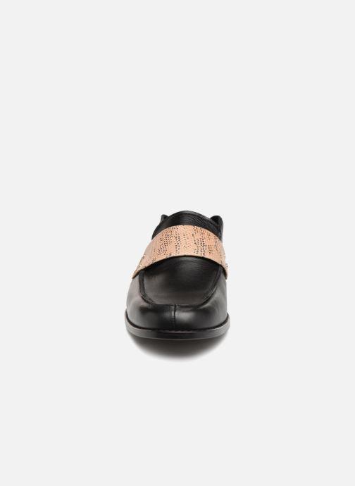 Mocassins Valentine Gauthier Fender Mule Noir vue portées chaussures