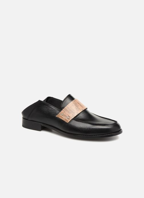 Loafers Valentine Gauthier Fender Mule Black detailed view/ Pair view