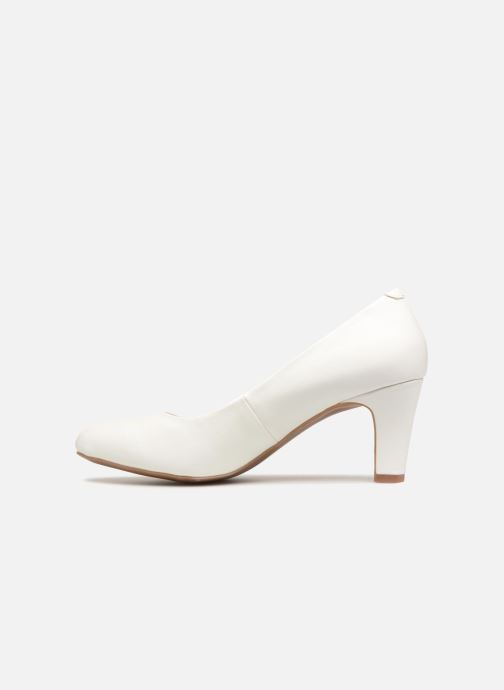 initiale paris cobea blanc escarpins chez sarenza 336722. Black Bedroom Furniture Sets. Home Design Ideas