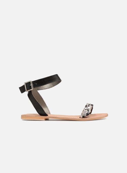 Sandales et nu-pieds Initiale Paris MAEDANE Noir vue derrière