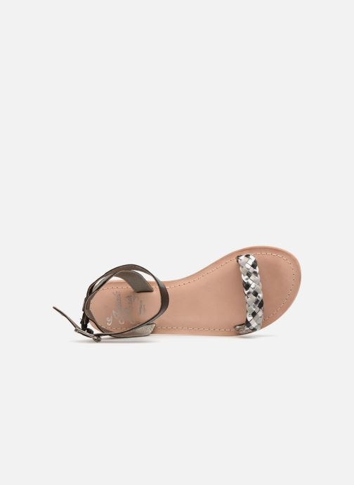 Sandales et nu-pieds Initiale Paris MAEDANE Noir vue gauche