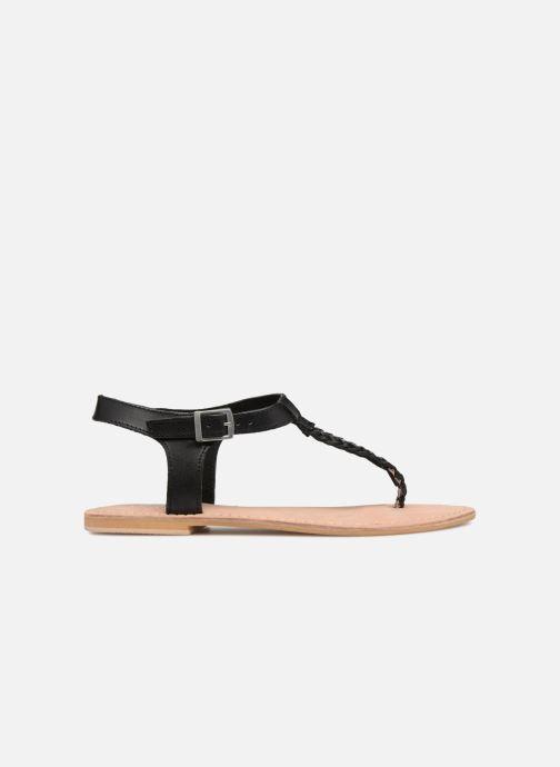 Sandales et nu-pieds Initiale Paris MAKOTO Noir vue derrière