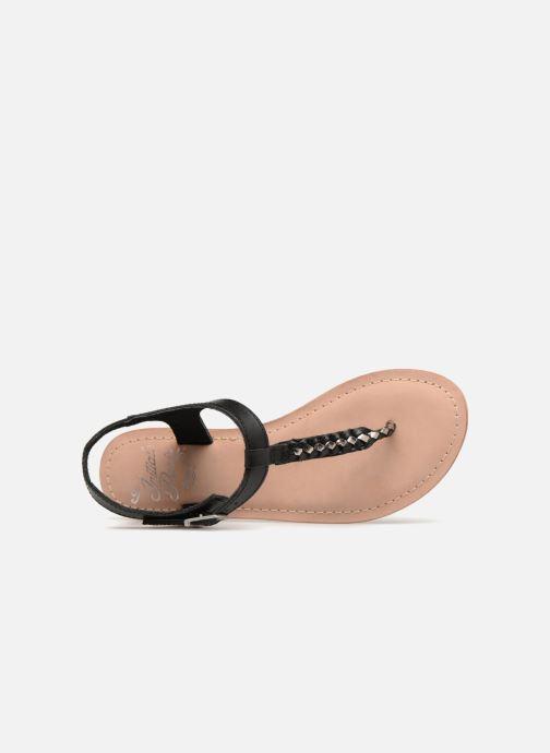 Sandales et nu-pieds Initiale Paris MAKOTO Noir vue gauche
