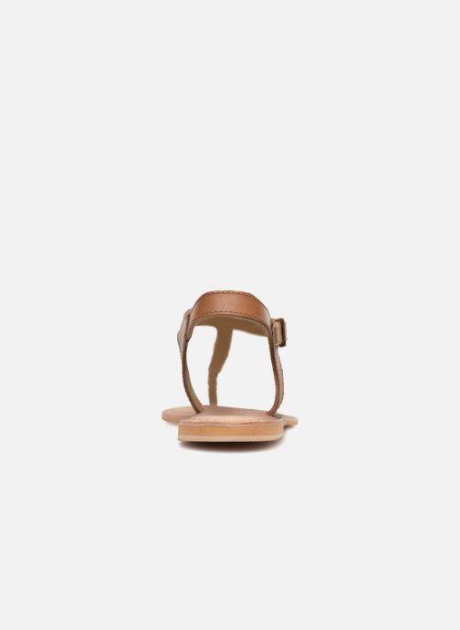 Sandalen Initiale Paris MAKOTO Bruin rechts