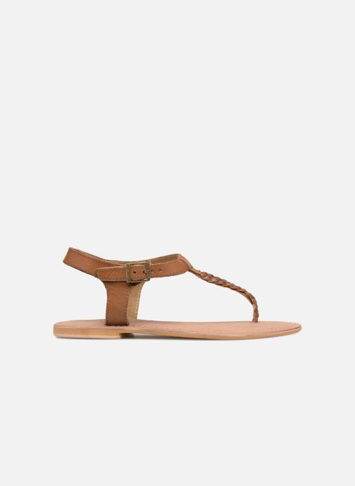Sandalen Initiale Paris MAKOTO Bruin achterkant