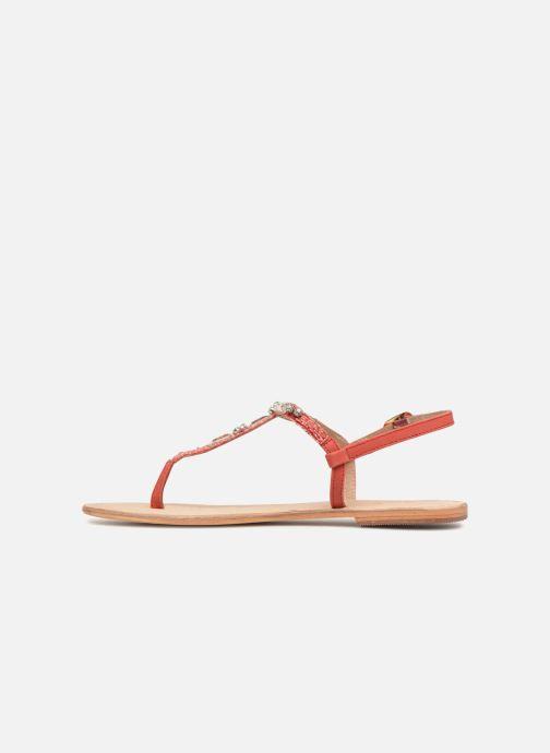 Sandals Initiale Paris NESSE Pink front view