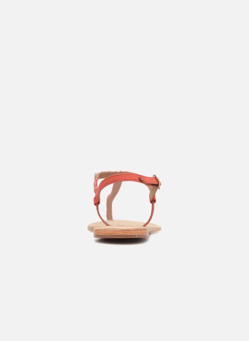 Sandalen Initiale Paris NESSE rosa ansicht von rechts