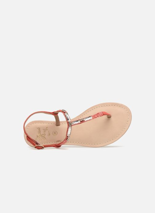 Sandals Initiale Paris NESSE Pink view from the left