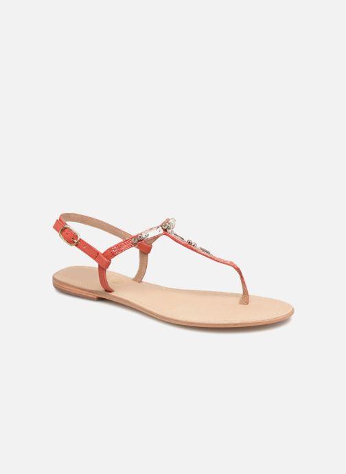 Sandales et nu-pieds Initiale Paris NESSE Rose vue détail/paire