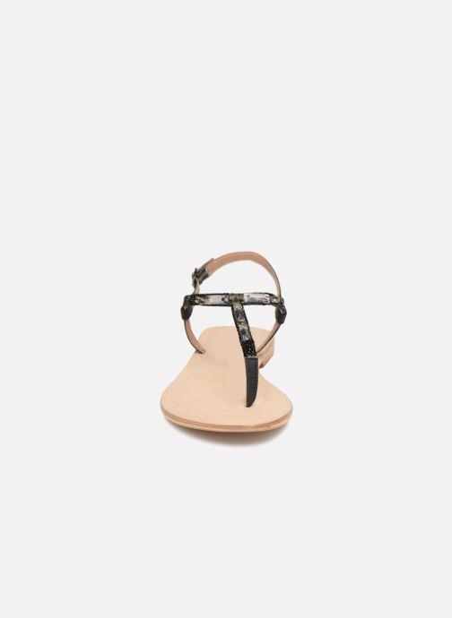 Sandales et nu-pieds Initiale Paris NESSE Noir vue portées chaussures