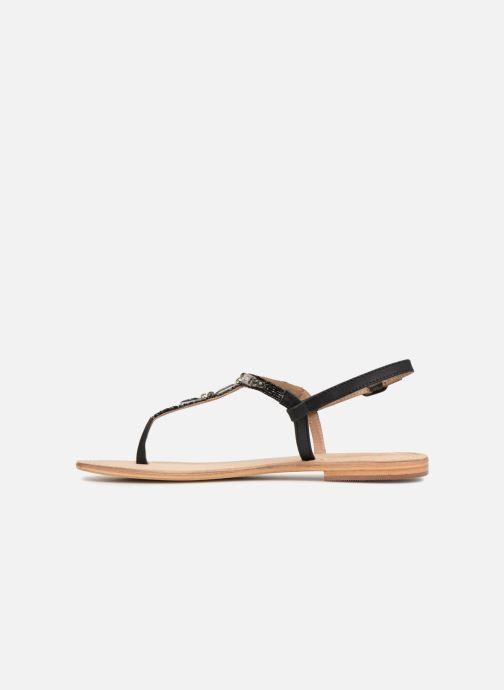 Sandalen Initiale Paris NESSE schwarz ansicht von vorne