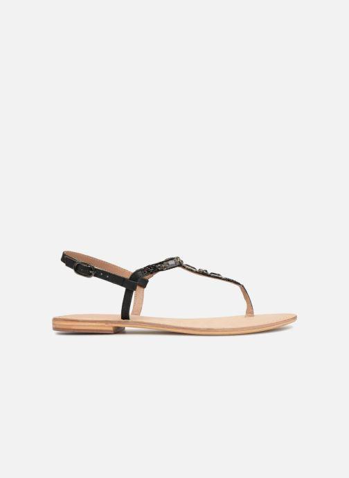 Sandalen Initiale Paris NESSE schwarz ansicht von hinten