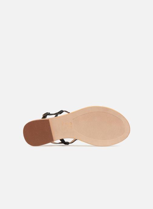 Sandales et nu-pieds Initiale Paris NESSE Noir vue haut