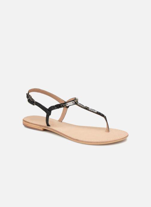 Sandalen Initiale Paris NESSE schwarz detaillierte ansicht/modell