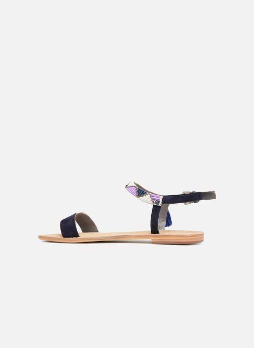 Sandali e scarpe aperte Initiale Paris NEWTON Azzurro immagine frontale
