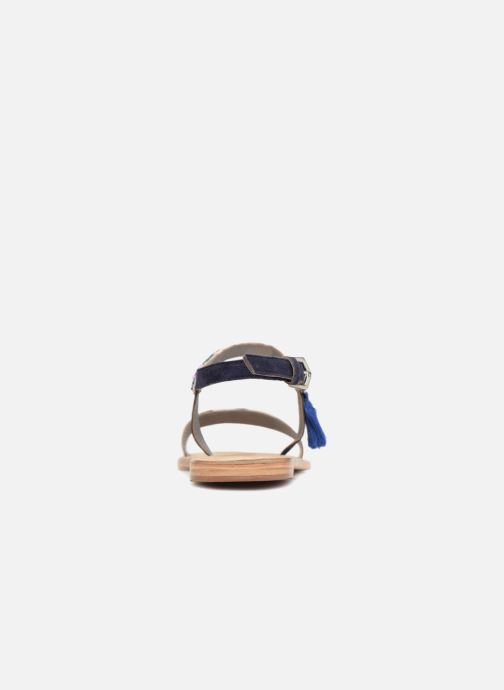 Sandali e scarpe aperte Initiale Paris NEWTON Azzurro immagine destra
