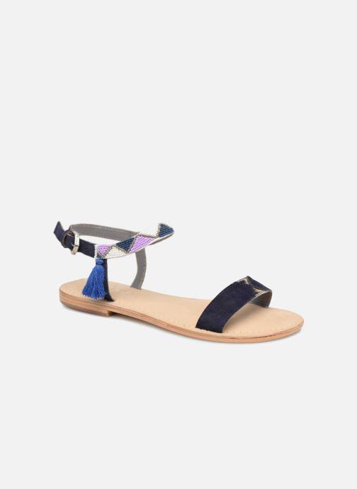 Sandalen Initiale Paris NEWTON blau detaillierte ansicht/modell