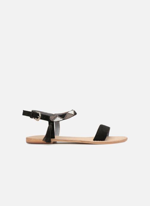 Sandales et nu-pieds Initiale Paris NEWTON Noir vue derrière