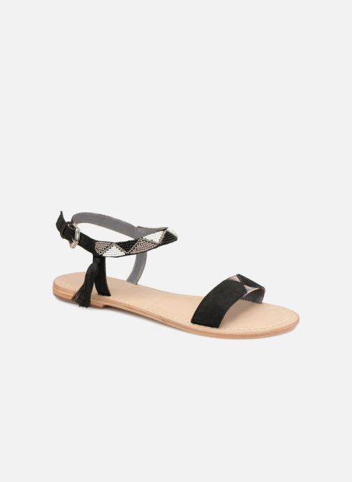 Sandales et nu-pieds Initiale Paris NEWTON Noir vue détail/paire
