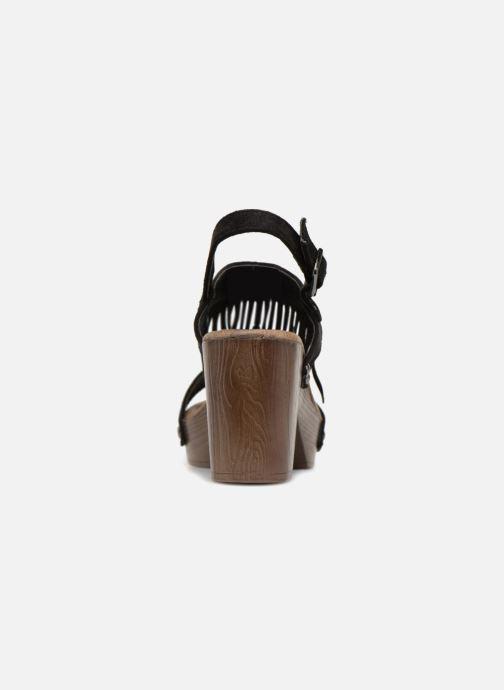 Sandales et nu-pieds Initiale Paris RAYANA Noir vue droite