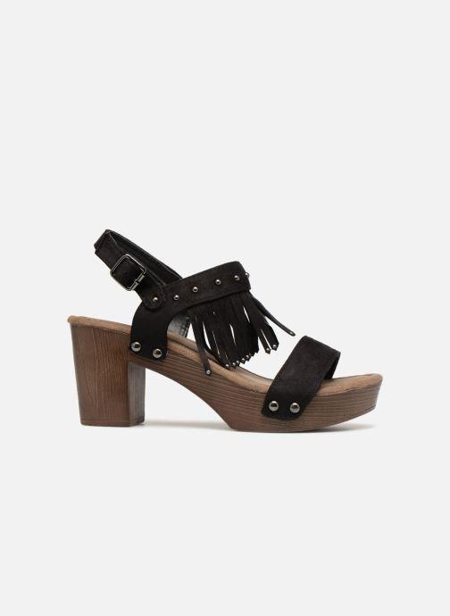Sandales et nu-pieds Initiale Paris RAYANA Noir vue derrière
