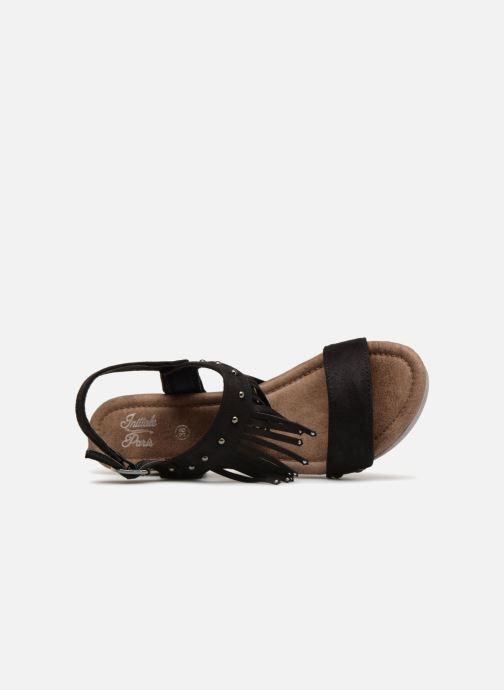 Sandales et nu-pieds Initiale Paris RAYANA Noir vue gauche