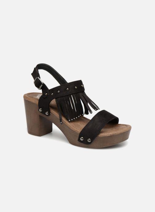 Sandalen Initiale Paris RAYANA schwarz detaillierte ansicht/modell