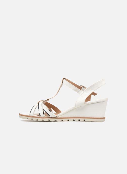 Sandales et nu-pieds Initiale Paris ROMANE Blanc vue face